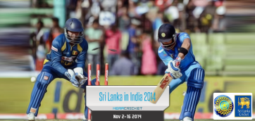 India vs Srilanka cricket series November 2014