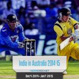 India Australia Test Series 2014 – 2015 revised dates