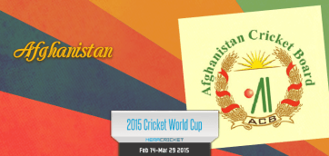 Afghanistan Cricket Team World Cup Cricket 2015