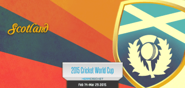 Scotland Cricket Team World Cup Cricket 2015