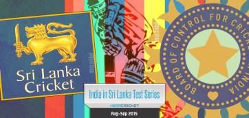 India Sri Lanka Cricket Series 2015