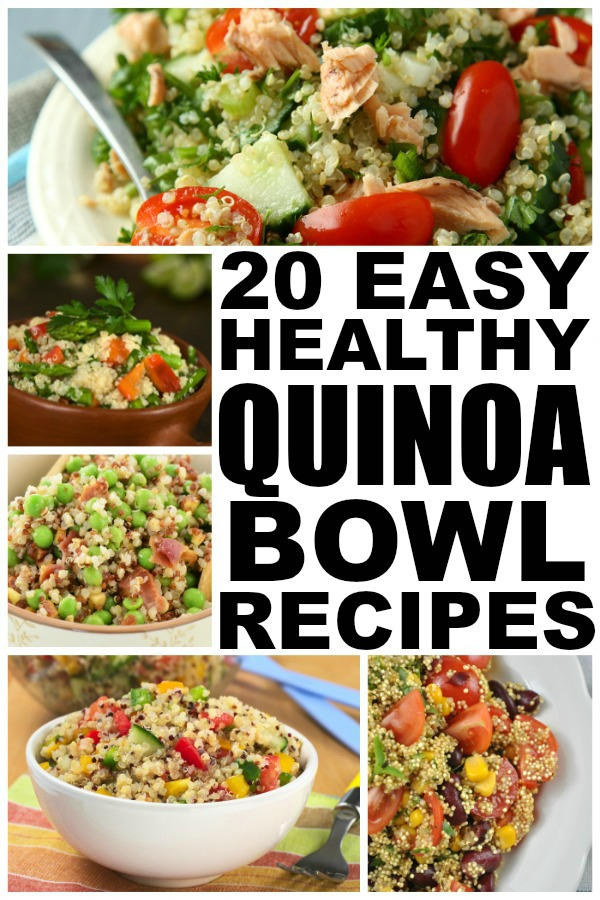 High in protein and fiber, quinoa offers a great food option for those who are trying to lose weight and get back in shape, and that's why we put together this FABULOUS collection of quinoa recipes for weight loss. These easy, make-ahead dinner recipes double as fabulous grab-and-go snack ideas to enjoy pre- or post-workout, as well as a protein-rich breakfast options to start your day.