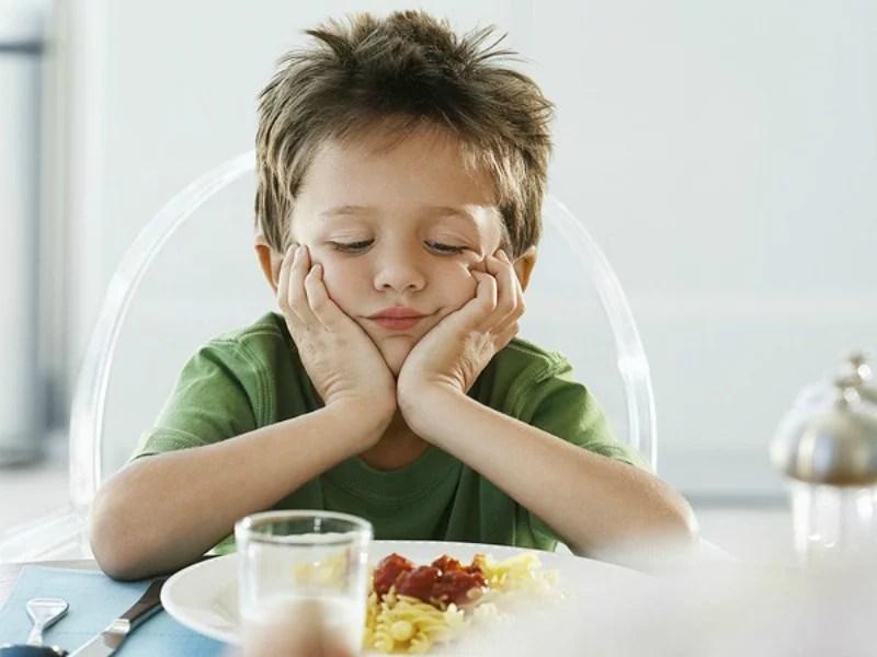 fussy eater boy