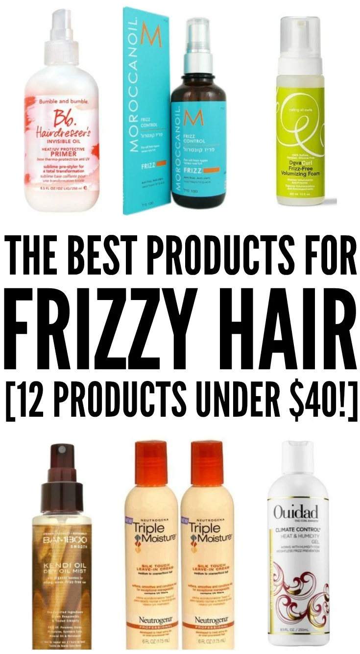 How To Tame Frizzy Hair 12 Hair Products That Work Under