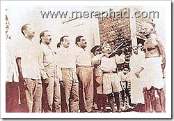 captain-ram-singh_with_gandhi-ji