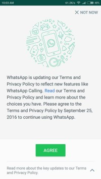 How to Opt out of WhatsApp facebook Data Sharing Privacy Policy