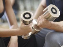 entrenar en el gimnasio