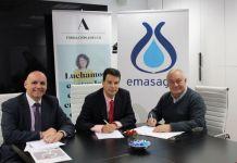Foto de Acuerdo Fundación Adecco y EMASAGRA