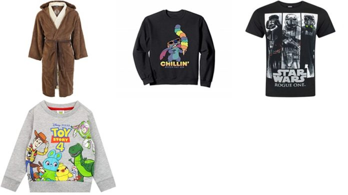 Amazon: Disney and Star Wars clothing