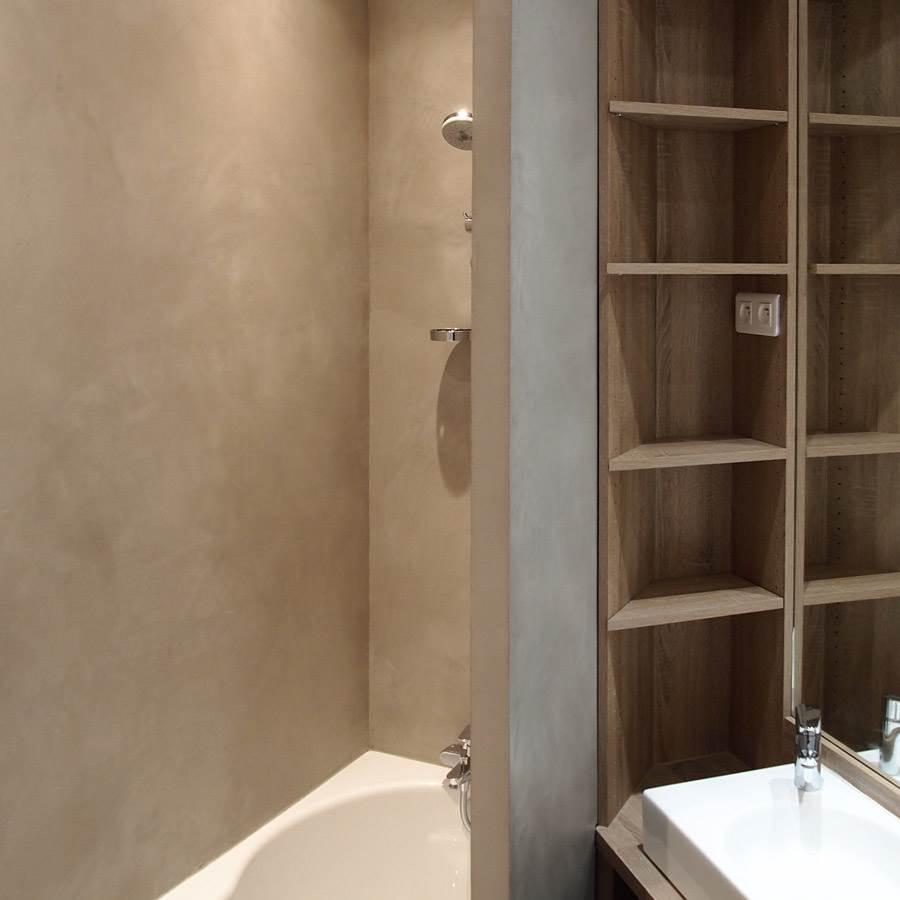 beton cire enduit beton colore ebc couleur taupe le shot 5 35kg jusqu a 2 5m