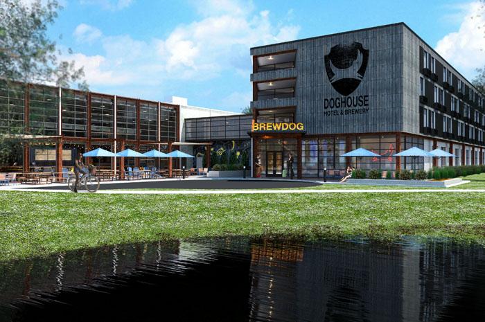 Hotel Brewdog de cerveja