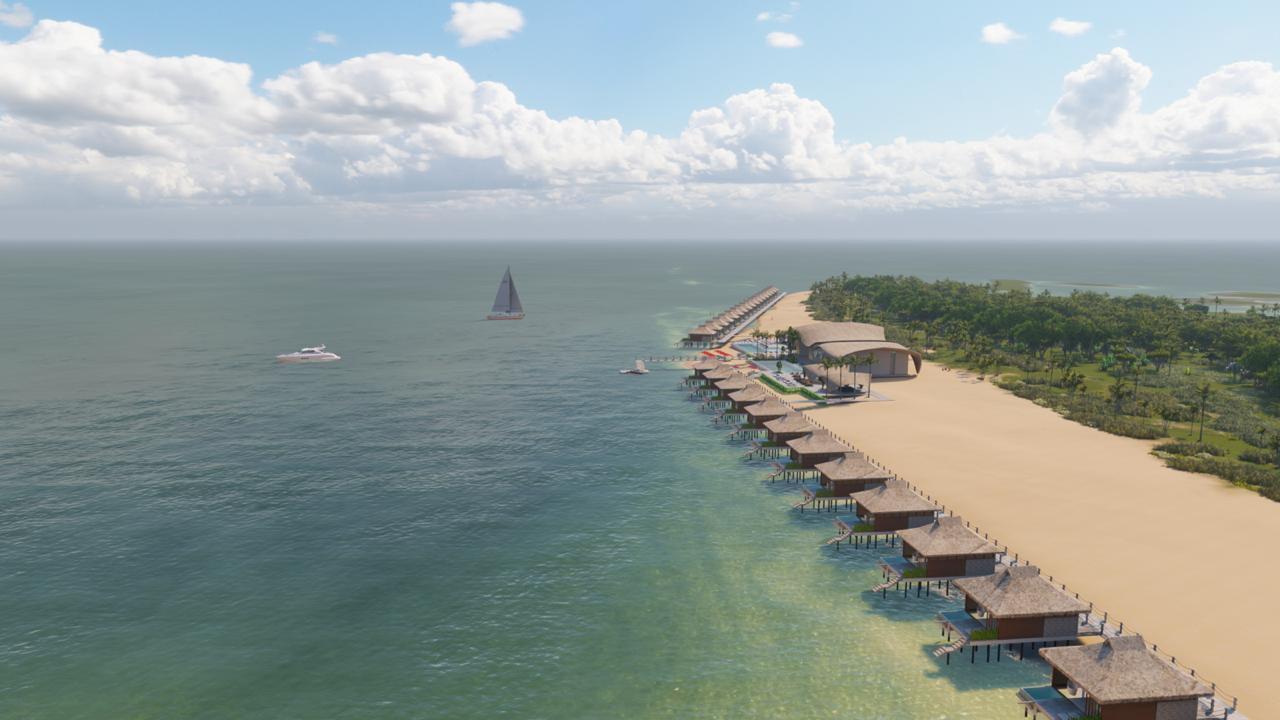 Maranhão ganhará resort cinco estrelas de 54 bangalôs; fotos