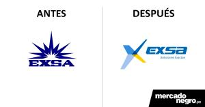 Exsa presenta nuevo logotipo diseñado por Vistacom