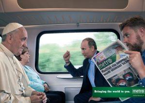 Campañas protagonizadas e inspiradas en el papa Francisco