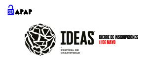 Este viernes 11 de mayo finalizan las inscripciones para el Premio IDEAS 2018