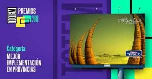 Premios TOTEM 2018 reconoce a la 'Mejor implementación en provincias'
