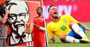 KFC se burla de Neymar Jr. en su nuevo spot