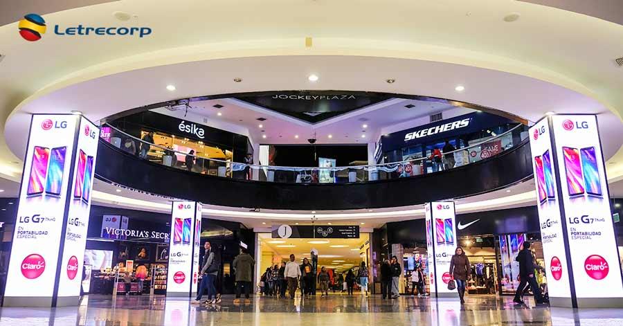 El Jockey Plaza se innovó con Letrecorp | MercadoNegro