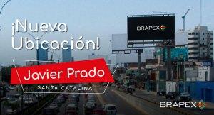 Brapex lanza nueva pantalla en la Av. Javier Prado