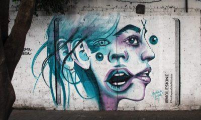 Arte callejero convertido en publicidad