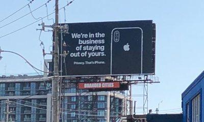 Apple respeta la privacidad de sus usuarios y alardea sobre ello en esta campaña
