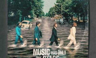 Las portadas de estos clásicos del rock reviven para llevar un contundente mensaje