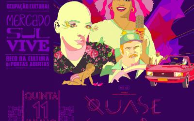 Quase Samba estreia no Mercado Sul