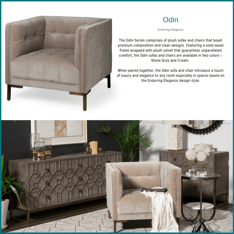 The Odin Series of Living Room Furniture