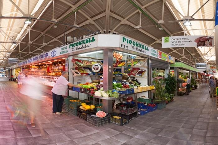 Markthalle in Santa Catalina