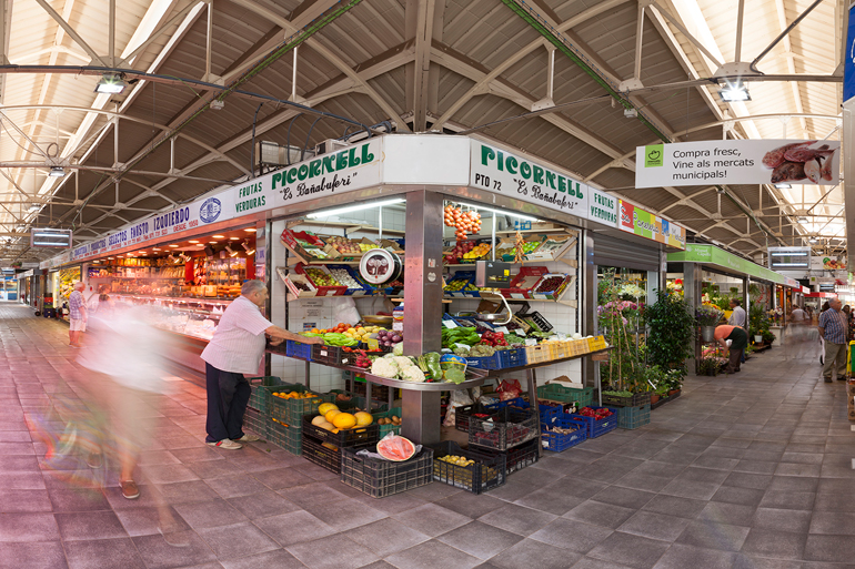 Markthalle in Santa Catalina