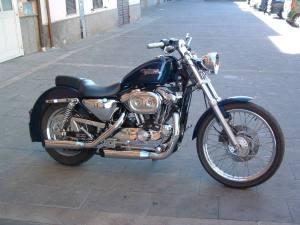 sportster 1200 custom '02, modello custom, marca harley