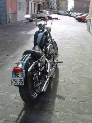 sportster 1200 custom '02, marca Harley Davidson Custom