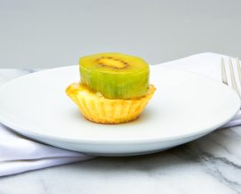 Mini Fresh Kiwi Tart with Custard