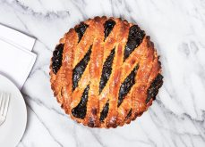 Blueberry Cross Pie