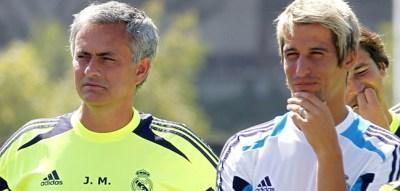 Jose Mourinho / Fabio Coentrao / Iker Casillas