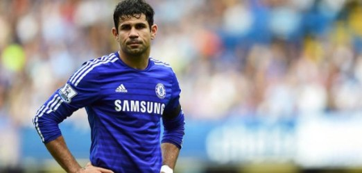 LONDON, ENGLAND - SEPTEMBER 13:  Diego Costa of Chelsea looks on during the Barclays Premier League match between Chelsea and Swansea City at Stamford Bridge on September 13, 2014 in London, England.  (Photo by Jamie McDonald/Getty Images)