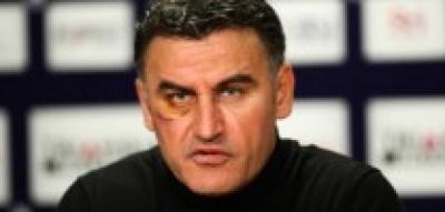 Christophe Galtier - 07.02.2014 - Toulouse / Saint Etienne - 24eme journee de Ligue 1 - Photo : Manuel Blondeau / Icon Sport