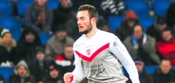 Lucas Tousart - 02.02.2015 - Le Havre / Valenciennes - 22e journee Ligue 2 Photo : Philippe Le Brech / Icon Sport