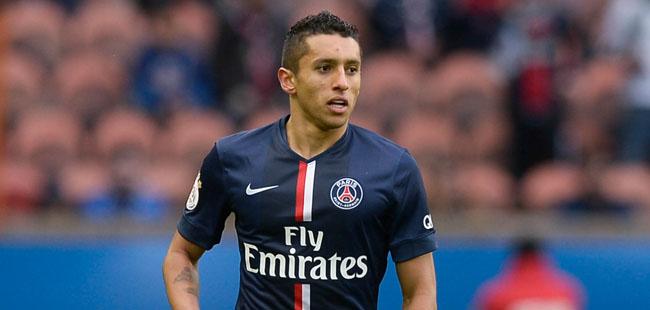 Marquinhos - 14.02.2015 - Paris Saint Germain / Caen - 25eme journee de Ligue 1 Photo : Andre Ferreira / Icon Sport
