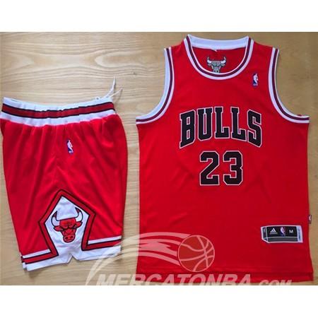 Maglie NBA Jugadores Edicion Jordan Chicago Bulls Rosso