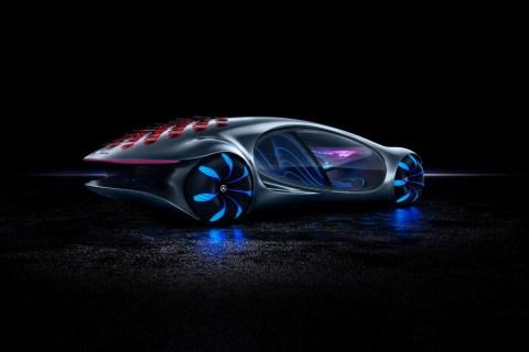 Inspiriert von der Zukunft: Das Mercedes-Benz Konzeptfahrzeug VISION AVTR
