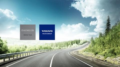 Volvo Group und Daimler Truck AG: Gründung eines Joint Ventures für die Serienproduktion von Brennstoffzellen
