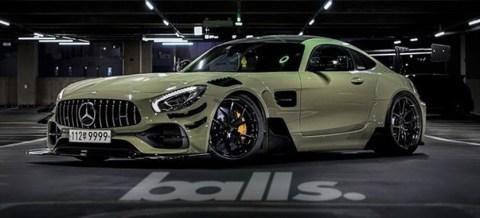 Mercedes-AMG GTR extrem von Balls CCG