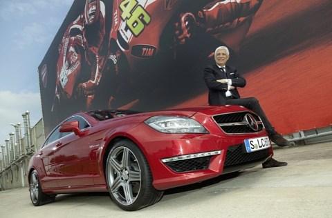 cls 63 amg per Gabriele Del Torchio amministratore delegato di Ducati