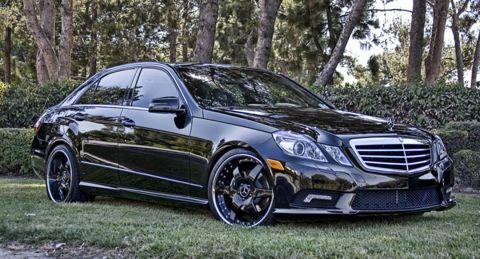 Mercedes-Benz E350 w212 Hess Motorsports