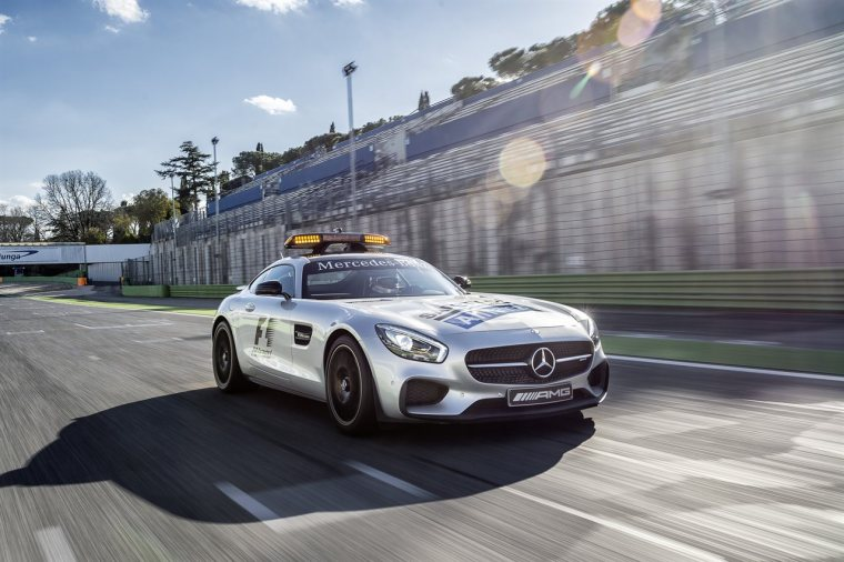 Mercedes-AMG GT S als Official Safety Car der FIA Formel 1 Weltm