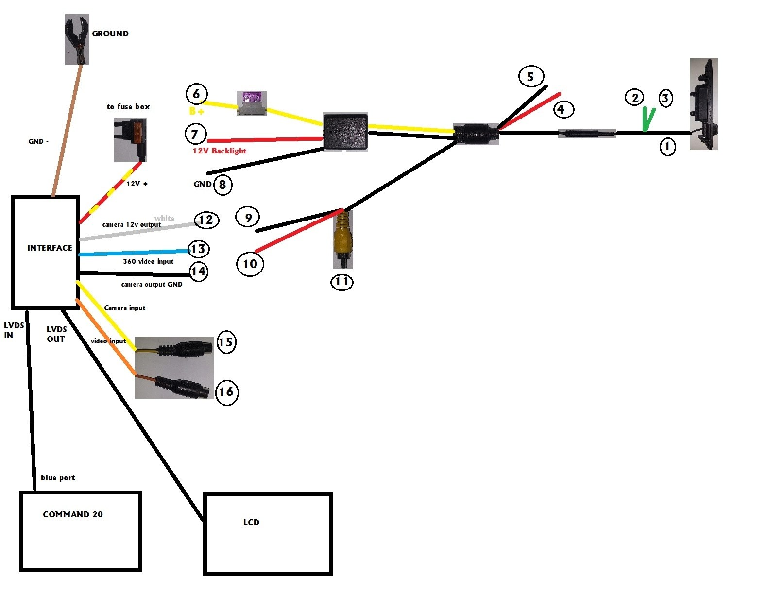 Reversing Relay Schematic