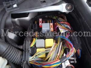 Fuses and Relays Location Designation S Class CL Class 20002006  Mercedes Medic