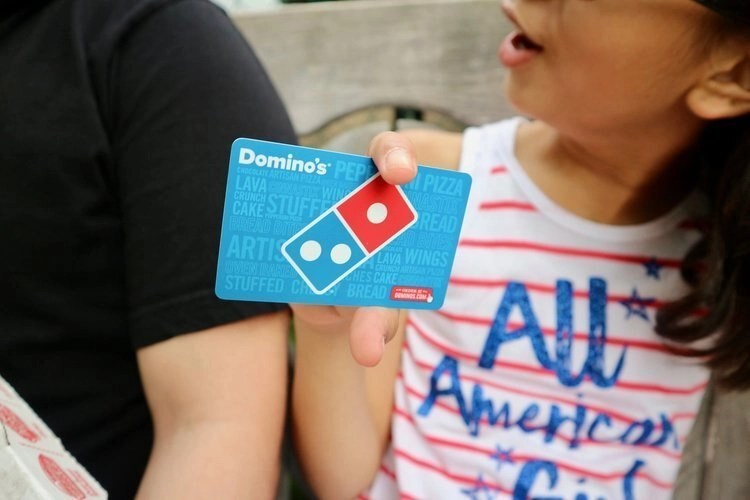 celebrate fathers day with dominos