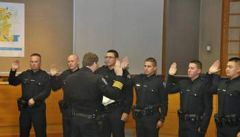 Four new Merced officers graduate police academy - Merced